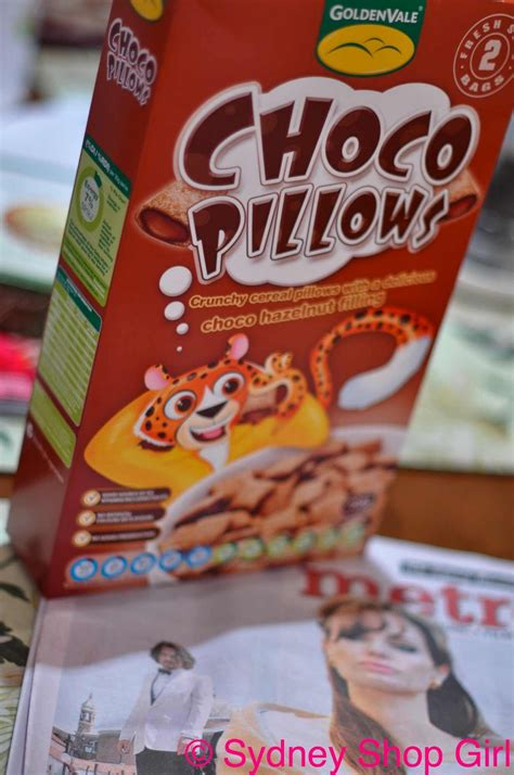 Chocolate Pillows Cereal by Sydney Shop Crabtree And Chocolate The Last Monday