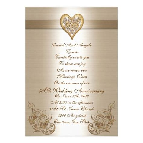 cheap 50th wedding anniversary invitations vow renewal invitations vow renewals and vows on