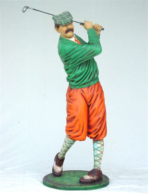 classic golfer statue 75 quot h home decor dallas by the