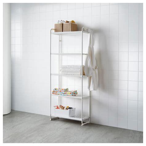 mulig shelving unit white 58x34x162 cm ikea