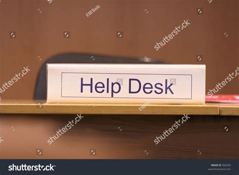Help Desk Sign by Help Desk Sign Stock Photo 360332