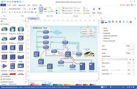 3d diagram maker network diagram maker