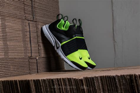 Sepatu Sneakers Nike Air Presto Gs Black Green Grade Original 39 44 nike presto gs volt black white footshop