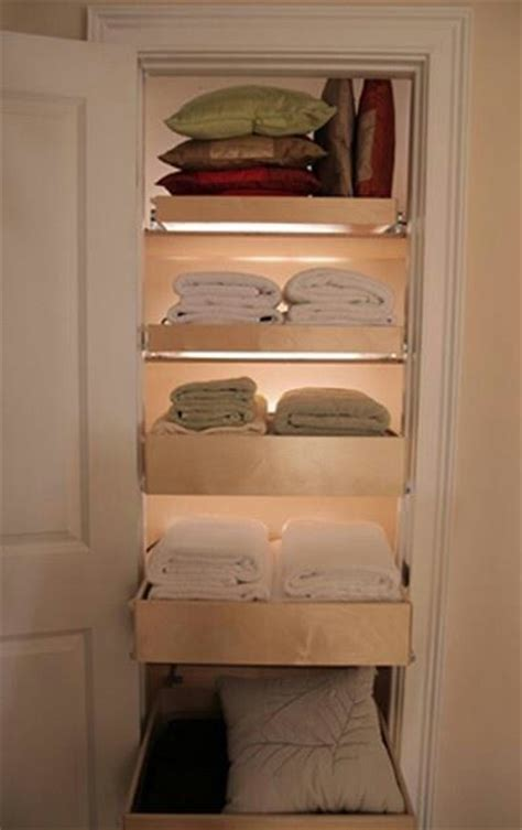Closet Storage Shelves And Drawers Diy Linen Closet Pull Out Drawers Cleaning