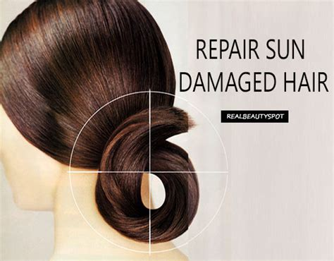 best hair repair treatments for damaged hair natural remedies to repair sun dry damaged hair