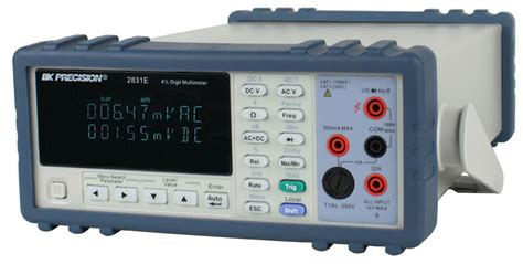 bench digital multimeter model 5491b true rms bench digital multimeters b k precision