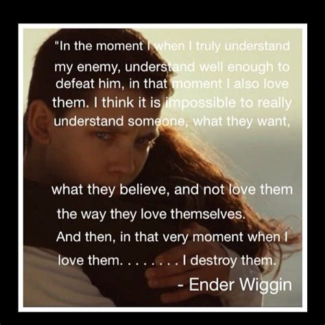 wiggin quotes ender wiggin quote ender s and