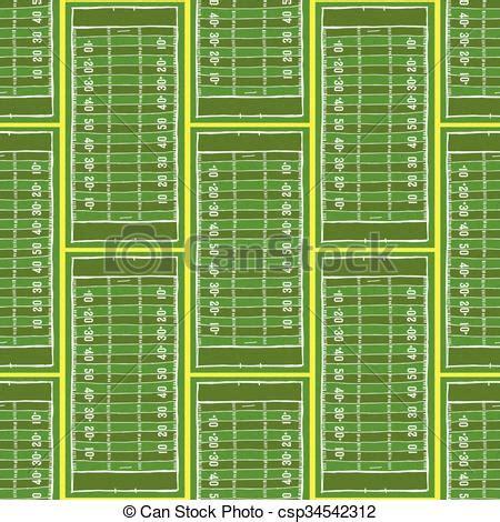 field pattern en francais vector clip art of sketch football field pattern in