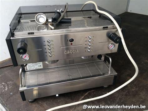 koffiemachine uit faillissement veiling espressomachine gaggia iphone
