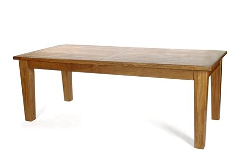 florence large extending dining table oak