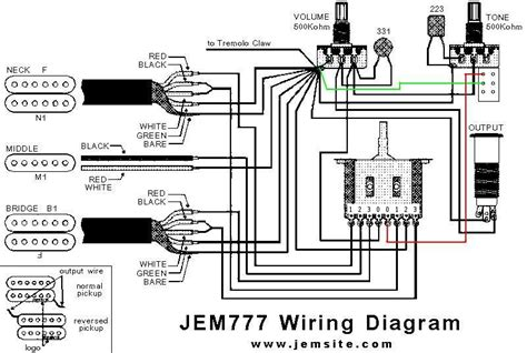wiring diagram for ibanez jem wiring diagrams wiring