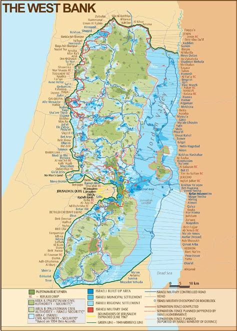 is west bank part of israel the west bank map israel palestina keep in mind
