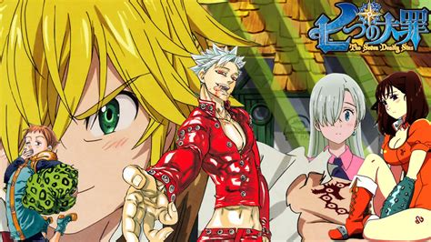 wallpaper anime nanatsu no taizai nanatsu no taizai wallpaper by nburr16 on deviantart