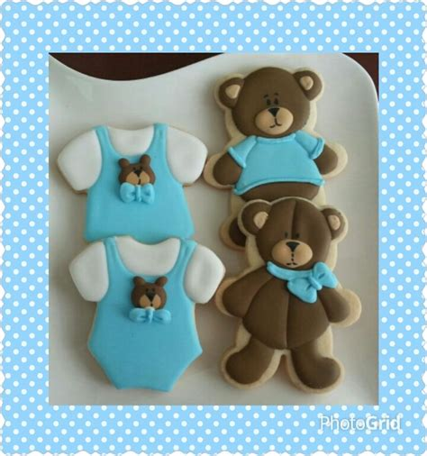 Baby Shower Bears by Teddy Baby Shower Cookies Decorated Cookies