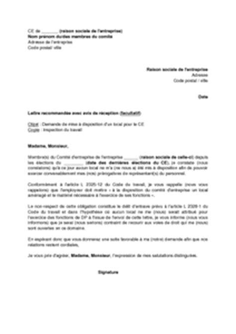 Exemple De Lettre De Demande De Matériel Informatique Exemple Gratuit De Lettre Demande Mise 224 Disposition Un