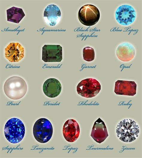 semi precious the gallery for gt semi precious stones chart identification