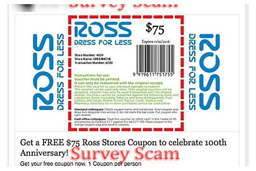 ross dress for less store coupons
