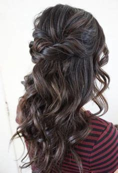 halfway up hairstyle inspiration hairstyles wedding half up curls and be beautiful
