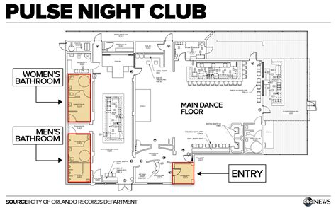 nightclub floor plan three hours of horror inside the orlando nightclub