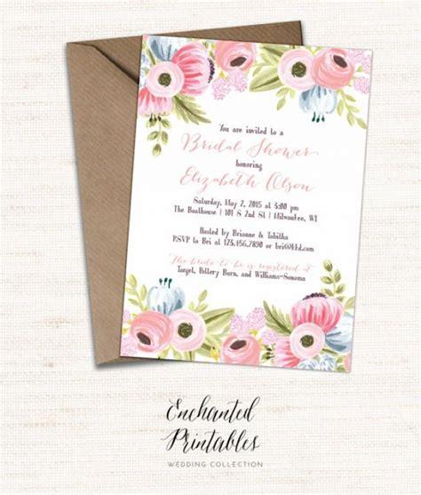 printable bridal shower invitations rustic printable bridal shower invitation printable rustic