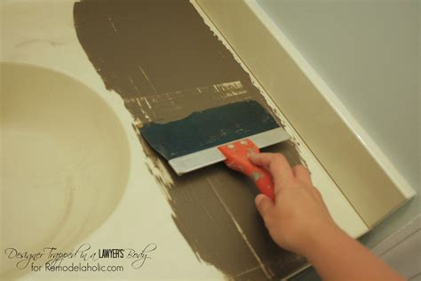 Can You Paint Cultured Marble Vanity Top by Remodelaholic Diy Concrete Vanity With Integral Sink