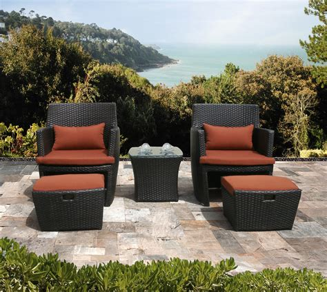 patio chair with hidden ottoman wicker patio chair with hidden ottoman nealasher chair