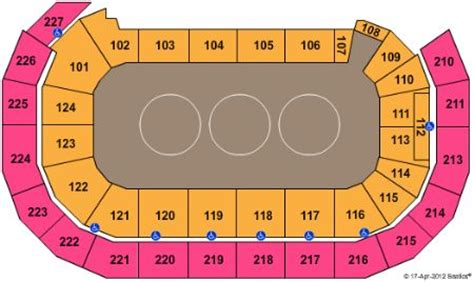 amsoil arena seating map amsoil arena tickets and amsoil arena seating chart buy