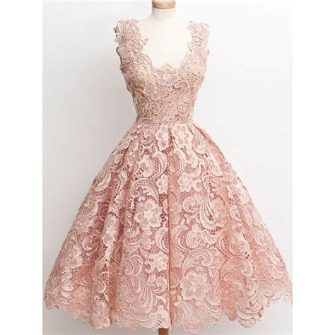 Dress Vintage vintage blush pink homecoming dresses 2016 lace