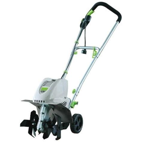 earthwise 11 in 8 5 electric tiller and cultivator