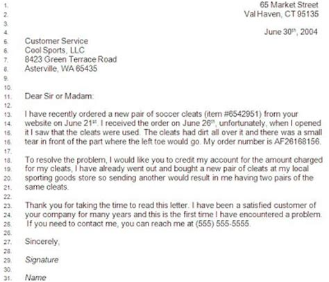 Complaint Letter Key Stage 2 Sle Business Complaint Letter Image Search Results