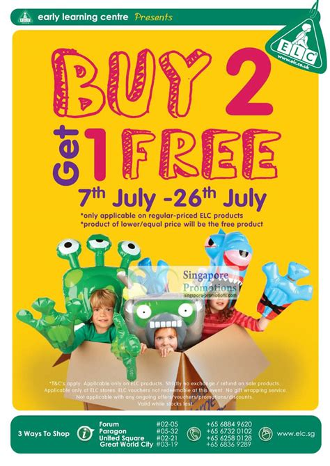 Early Learning Centre Gift Card - early learning centre 8 jul 2012 187 early learning centre buy 2 get 1 free elc