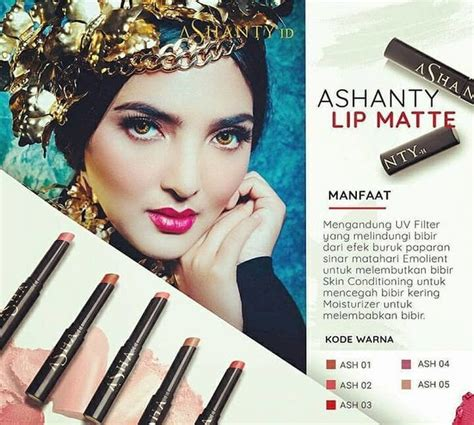 Lipstik Ashanty 15 produk kosmetik dan perawatan kulit ini ternyata milik