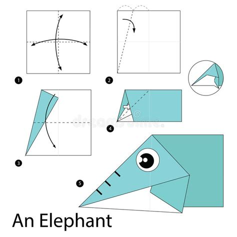 Step By Step Origami Elephant - step by step how to make origami an elephant