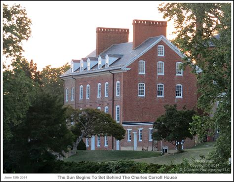 charles carroll house annapolis before sunset at the charles carroll house on spa creek sunday june 15th