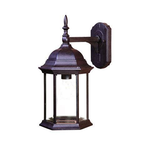 Craftsman Outdoor Light Fixtures by Acclaim Lighting Craftsman Collection 1 Light Black Coral Outdoor Wall Mount Light Fixture