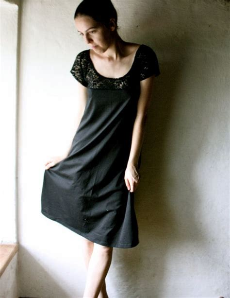 black lace tunic dress fashion for me