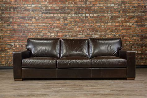 Leather Sofas by Leather Sofa Leather Sectional Custom Made In Canada