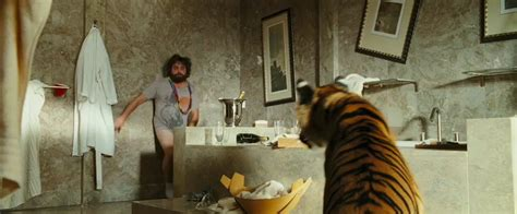 the hangover tiger in the bathroom movie review the hangover best comedy of the year