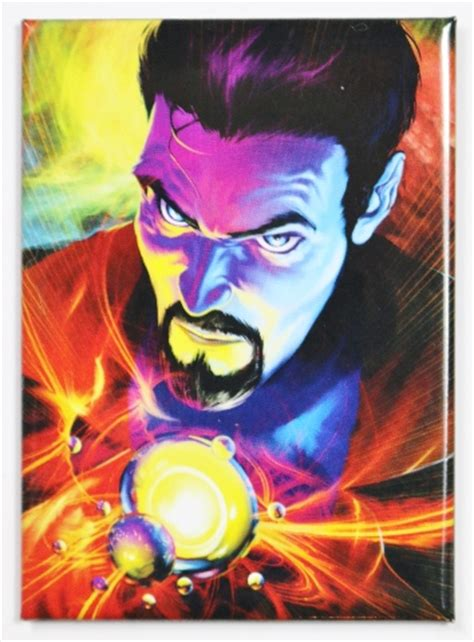 doctor strange fridge magnet marvel comics avengers stan lee
