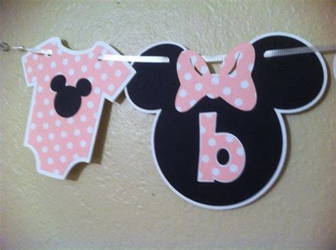 Minnie And Mickey Mouse Baby Shower by Minnie Mouse Baby Shower Banner Minnie