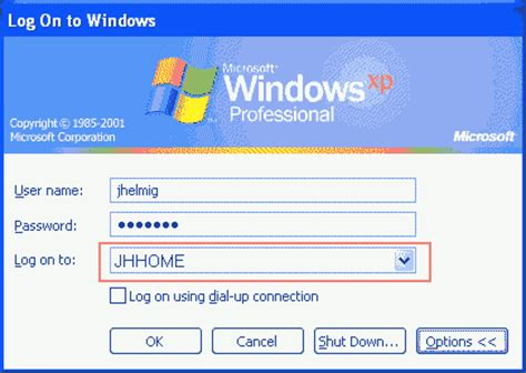 reset password windows xp professional domain windows xp professional joining a domain windows xp