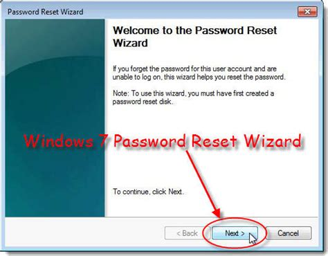reset windows vista password with reset disk reset windows 7 password with easy to use windows 7