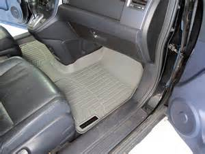 Weathertech Floor Mats For 2005 Honda Crv Weathertech Front Auto Floor Mat Single Gray