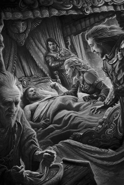 asoiaf art — A Game of Thrones: The Illustrated Edition