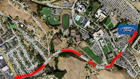 Csu East Bay Mba Road Map by Northern California Ford Car Show Directions