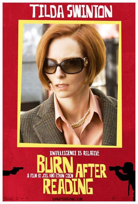 themes in burn after reading affiche du film burn after reading affiche 3 sur 6
