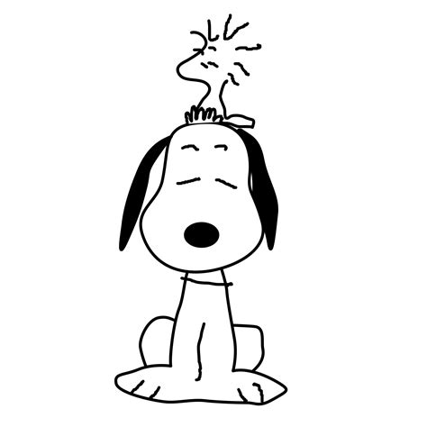 Printable Snoopy Coloring Pages Coloring Me Snoopy Coloring Page