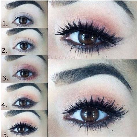eyeliner tutorial for school un maquillage discret pour les yeux marrons maquillage
