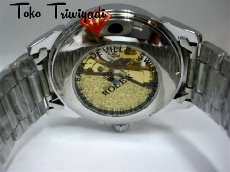 Promo Rantai Automatic wrlx219wgd jam tangan rolex pria white gold automatic