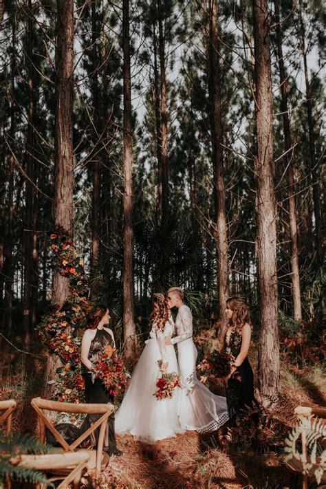 love  love wild whimsical forest wedding